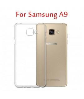 Etui en Silicone pour Samsung Galaxy A9 / Transparent