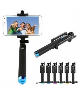 Perche télescopique Monopod selfie Bleutooth