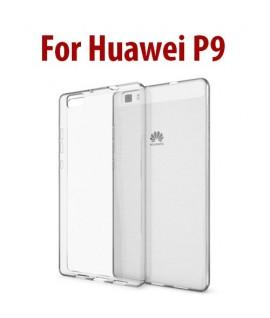 Etui en Silicone pour Huawei P9 Lite / Transparent