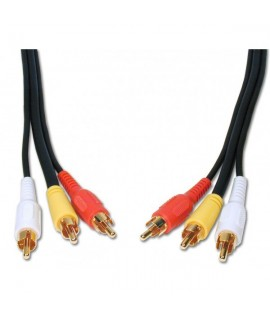 Câble 3 RCA vers 3 RCA 1.5M