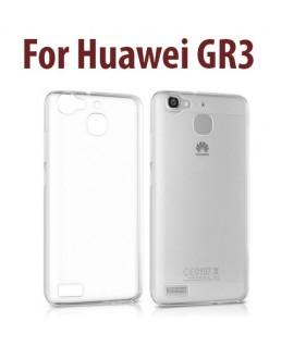 Etui en Silicone pour Huawei GR3 / Transparent