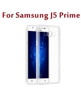 Etui en Silicone pour Samsung Galaxy J5 Prime / Transparent