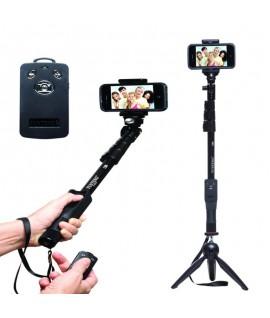 Selfie Monopod YUNTENG + Mini Trépied