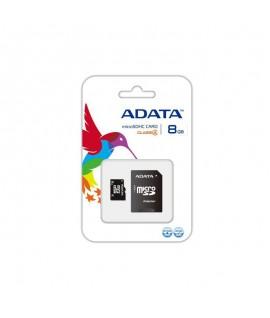 Carte Mémoire Micro SD 8 Go Avec Adaptateur ADATA