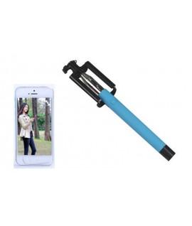 Baguette Selfie Monopod Bluetooth Blue
