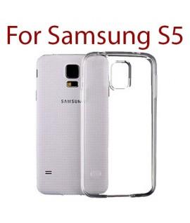 Samsung Galaxy S5 - Etui en Silicone Transparent