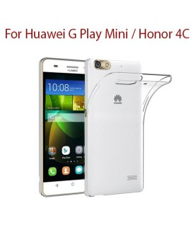 Huawei G Play Mini / Honor 4C - Etui en Silicone Transparent