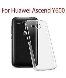 Huawei Ascend Y600 - Etui en Silicone Transparent