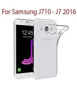Samsung J710 / J7 (2016) - Etui en Silicone Transparent