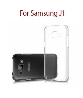 Samsung Galaxy J1 - Etui en Silicone Transparent