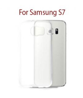 Samsung Galaxy S7 - Etui en Silicone Transparent
