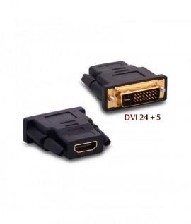 Adaptateur DVI-I (24+5) Male / HDMI Femelle