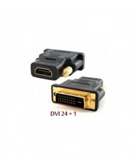 Adaptateur DVI-I (24+1) Male / HDMI Femelle