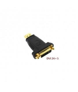 Adaptateur HDMI Male Vers DVI-I (24+5) Femelle
