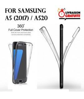 Samsung A5 2017 / A520 - Etui Transparent 360° Avant et Arrière