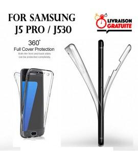 Samsung J5 PRO / J530 - Etui Transparent 360° Avant et Arrière