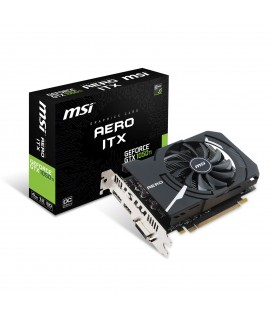 Carte Graphique MSI GeForce GTX 1050 Ti AERO ITX 4G OC