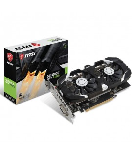 Carte Graphique MSI GeForce GTX 1050 Ti 4 Go OC