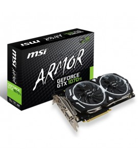 Carte graphique MSI GeForce GTX 1070 Ti ARMOR 8Go