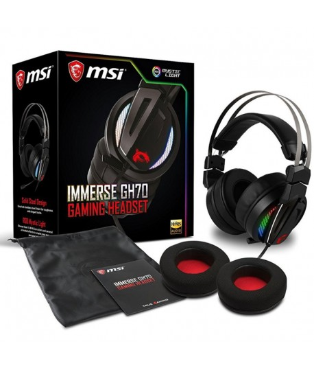 Casque Micro Gaming MSI IMMERSE GH70