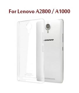 Lenovo A2800 / A1000 - Etui en Silicone Transparent