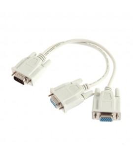 Cable VGA Male Vers 2 VGA Femelle