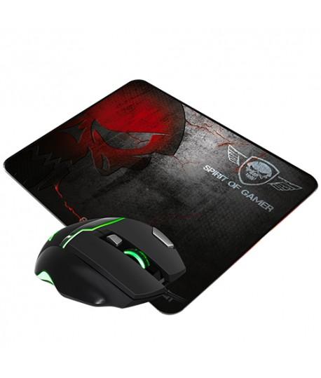 Pack Souris + Tapis Gaming SOG ELITE-M10