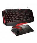 Pack Clavier + Souris + Tapis Gaming SOG PRO-MK3