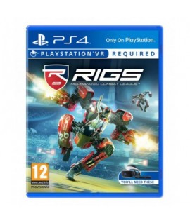 RIGS Mechanized Combat League - Jeu PS4 VR