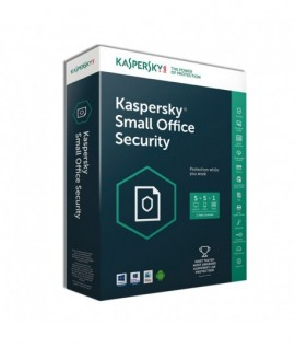 Kaspersky Small Office Security 2017 / 50 Pcs + 5 serveurs