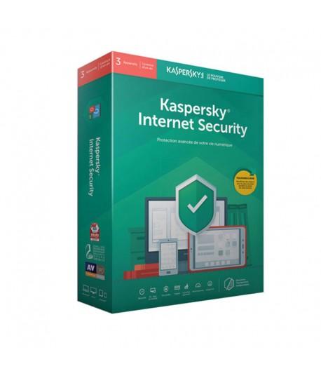 Antivirus KASPERSKY Internet Security 2019 - 1 an / 1 Pc