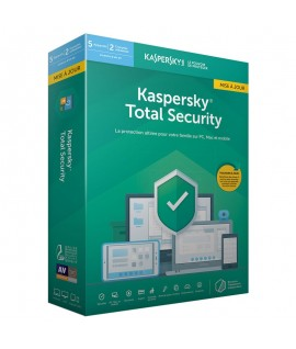 Antivirus KASPERSKY Internet Security 2019 - 1 an / 5 Pc