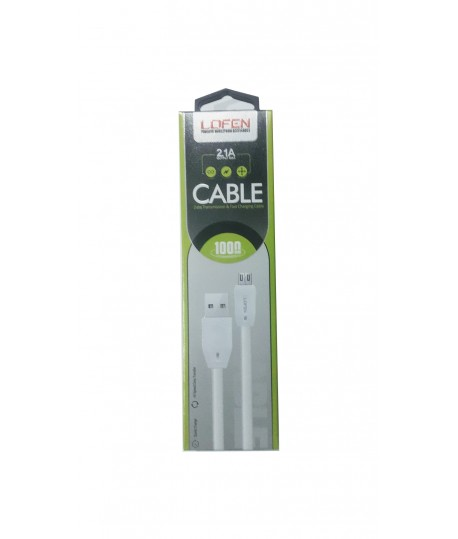 Cable Micro USB 1m 2.1A LDFEN XUD-8