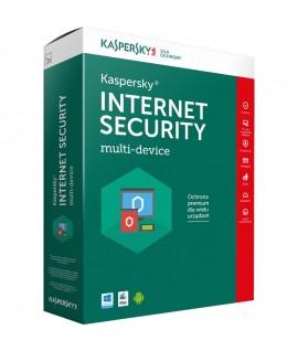 Antivirus KASPERSKY Internet Security 2019 - 1 an / 10 Pc