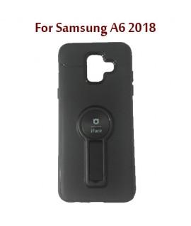 Samsung A6 2018 - Etui en Silicone iFace AUTO FOCUS