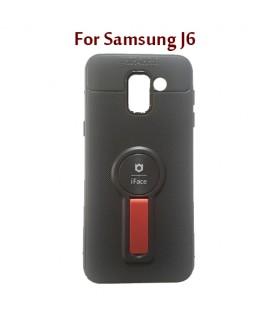 Samsung J6 - Etui en Silicone iFace AUTO FOCUS