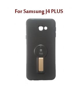 Samsung J4 PLUS - Etui en Silicone iFace AUTO FOCUS