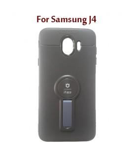 Samsung J4 - Etui en Silicone iFace AUTO FOCUS