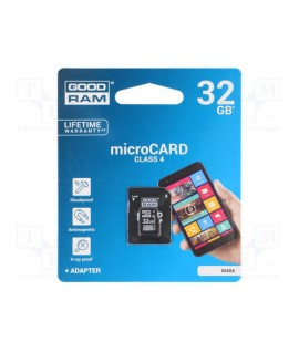 Carte Mémoire Micro SD GOODRAM 32 Go