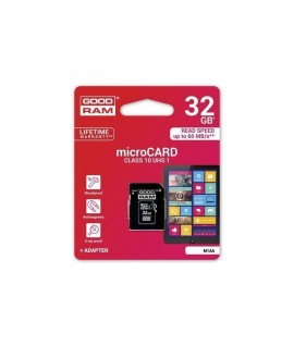 Carte Mémoire Micro SD GOODRAM 32 Go - Class 10