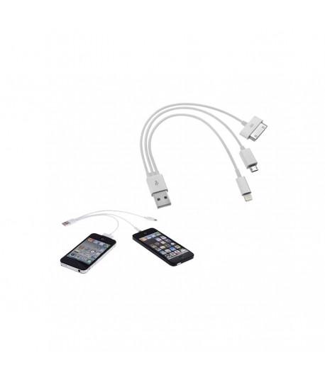 cable chargeur usb 3 en 1