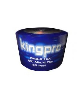 Bobine 50x DVD-R 16x 4.7GB KINGPRO