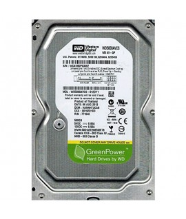 "Disque Dur Interne WESTERN DIGITAL 500G 3.5"" Reconditionné"