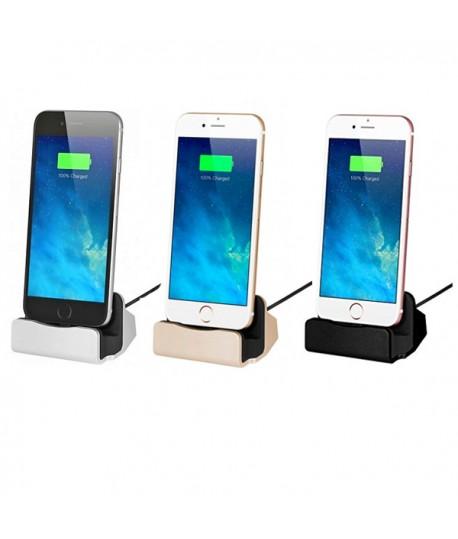 station de recharge et synchronisation lightning iphone. Black Bedroom Furniture Sets. Home Design Ideas