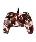 Manette Filaire Gaming KONIX P-20 Flamblade Rouge