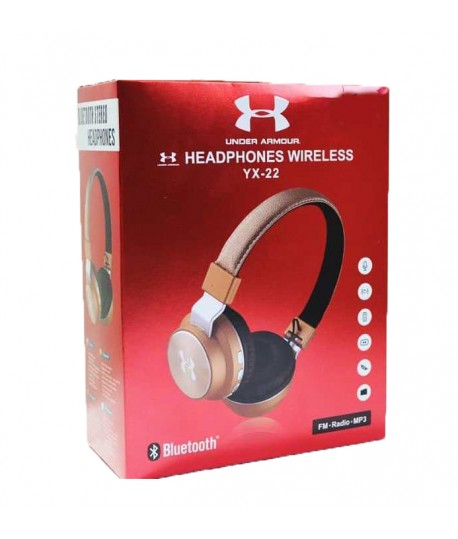 Casque MP3 Bluetooth YX-22
