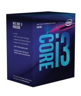 Processeur Intel i3-8100 8ème Gén 3.6GHZ