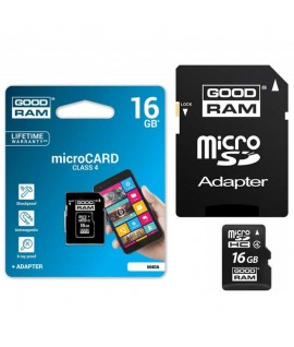 Carte Mémoire Micro SD GOODRAM 16 Go