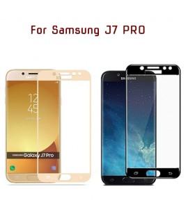 Samsung J7 PRO / J730 - Protection FULL SCREEN GLASS