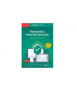Antivirus KASPERSKY Internet Security 2020 - 1 an / 10 Pc